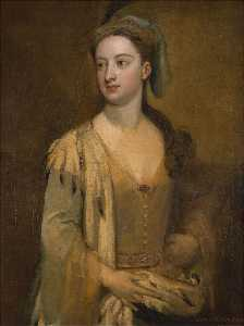 Godfrey Kneller - Lady Mary Wortley Montagu