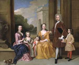Godfrey Kneller - The Harvey Family