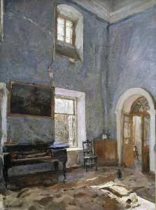 Valentin Alexandrovich Serov - The Hall of the Old House