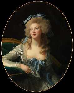 Elisabeth-Louise Vigée-Le.. - Madame Grand (Noël Cather..