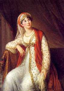 Elisabeth-Louise Vigée-Le.. - Madame Grassini in the Ro..