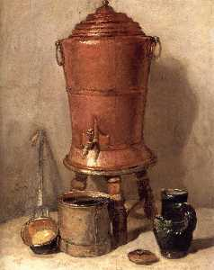 Jean-Baptiste Simeon Char.. - The Copper Drinking Fount..