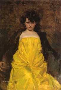 Ramon Casas Carbó - La Sargantain