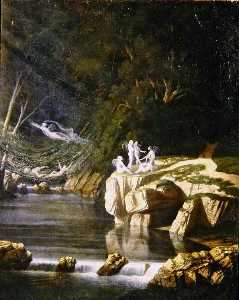 James Francis Danby - Fairies
