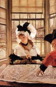 James Jacques Joseph Tissot - English The Tedious Story