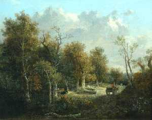 John Crome - The Edge of the Forest