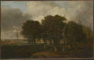 John Crome - Hautbois Common, Norfolk