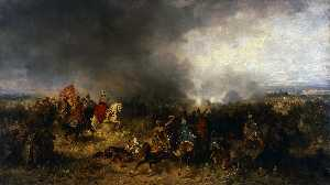 Jozef Brandt - Battle of Khotyn (1621)