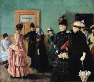 Per Krohg - Albertine at the Police D..
