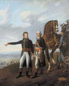 Robert Jacques François Lefèvre - General Bonaparte and his chief of staff Berthier at the Battle of Marengo