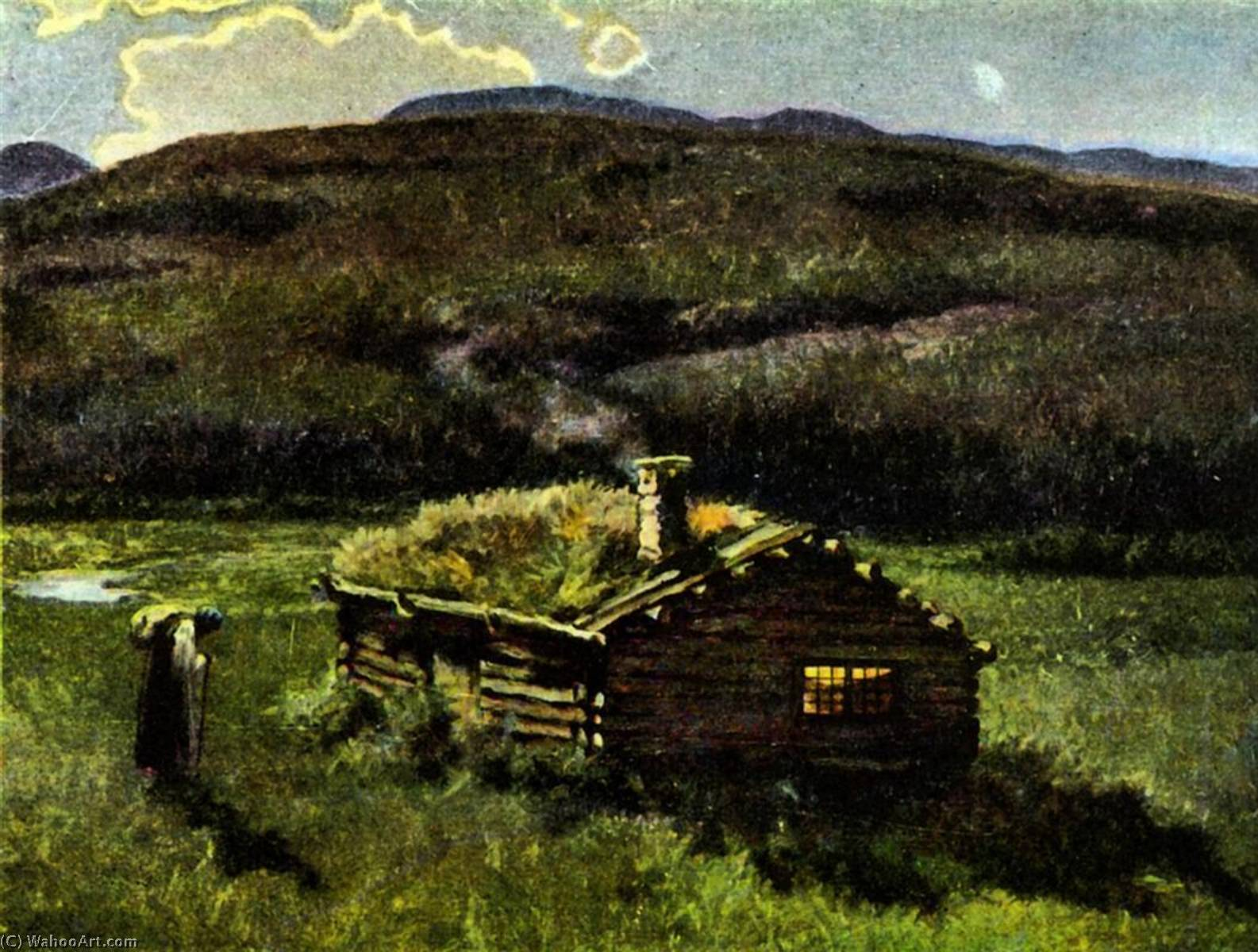 Langebrata by Theodor Kittelsen (1857-1914) | Museum Art Reproductions | ArtsDot.com