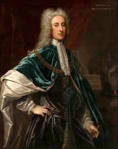 William Aikman - John Dalrymple, 2nd Earl of Stair (also known as John Campbell, Duke of Argyll and Greenwich)