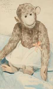 Boris Mikhaylovich Kustodiev - The Toy Monkey