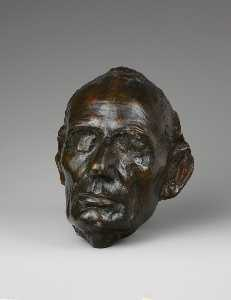 Augustus Saint Gaudens - Life Mask of Abraham Lincoln