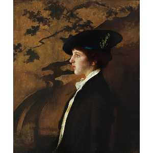 Edmund Charles Tarbell - Mary with a Black Hat