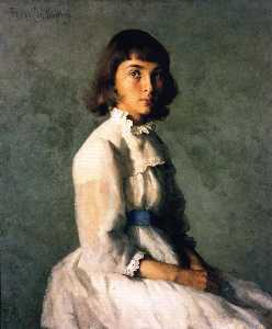 Frank Weston Benson - My Sister (also known as Portrait of Betty)