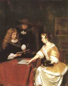 Gerard Ter Borch The Younger - The Music Party