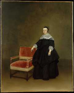 Gerard Ter Borch The Younger - Margaretha van Haexbergen (1614 1676)