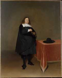 Gerard Ter Borch The Younger - Burgomaster Jan van Duren (1613 1687)