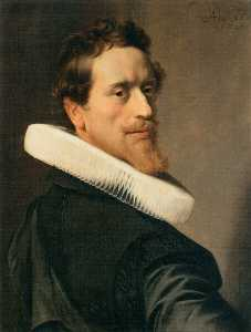 Nicolaes Eliasz Pickenoy - Self Portrait at the Age of Thirty Six