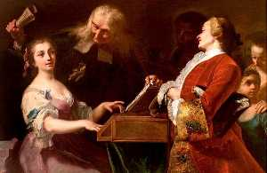 Giuseppe Bonito - The Music Lesson