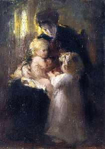 Laura Muntz Lyall - Mother with Children