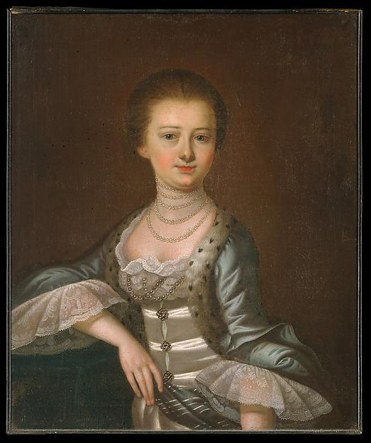 Mrs. John Dart, 1772 by Jeremiah Theus (1716-1774, Switzerland) | Museum Quality Copies Jeremiah Theus | ArtsDot.com