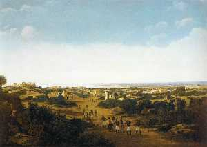 Frans Jansz Post - View of the Ruins of Olinda, Brazil