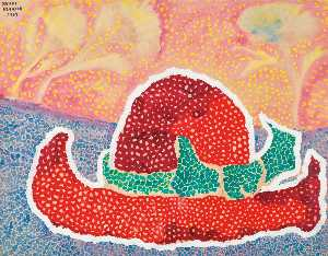 Yayoi Kusama - Hat Left Behind in the Fi..