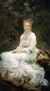 Marie Bracquemond - The Lady in White
