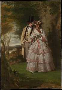 William Powell Frith - The Two Central Figures i..