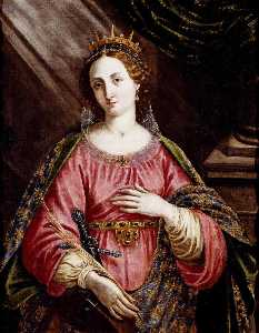 Jacopo Chimenti - St Catherine