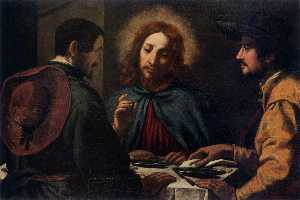 Jacopo Chimenti - Supper at Emmaus