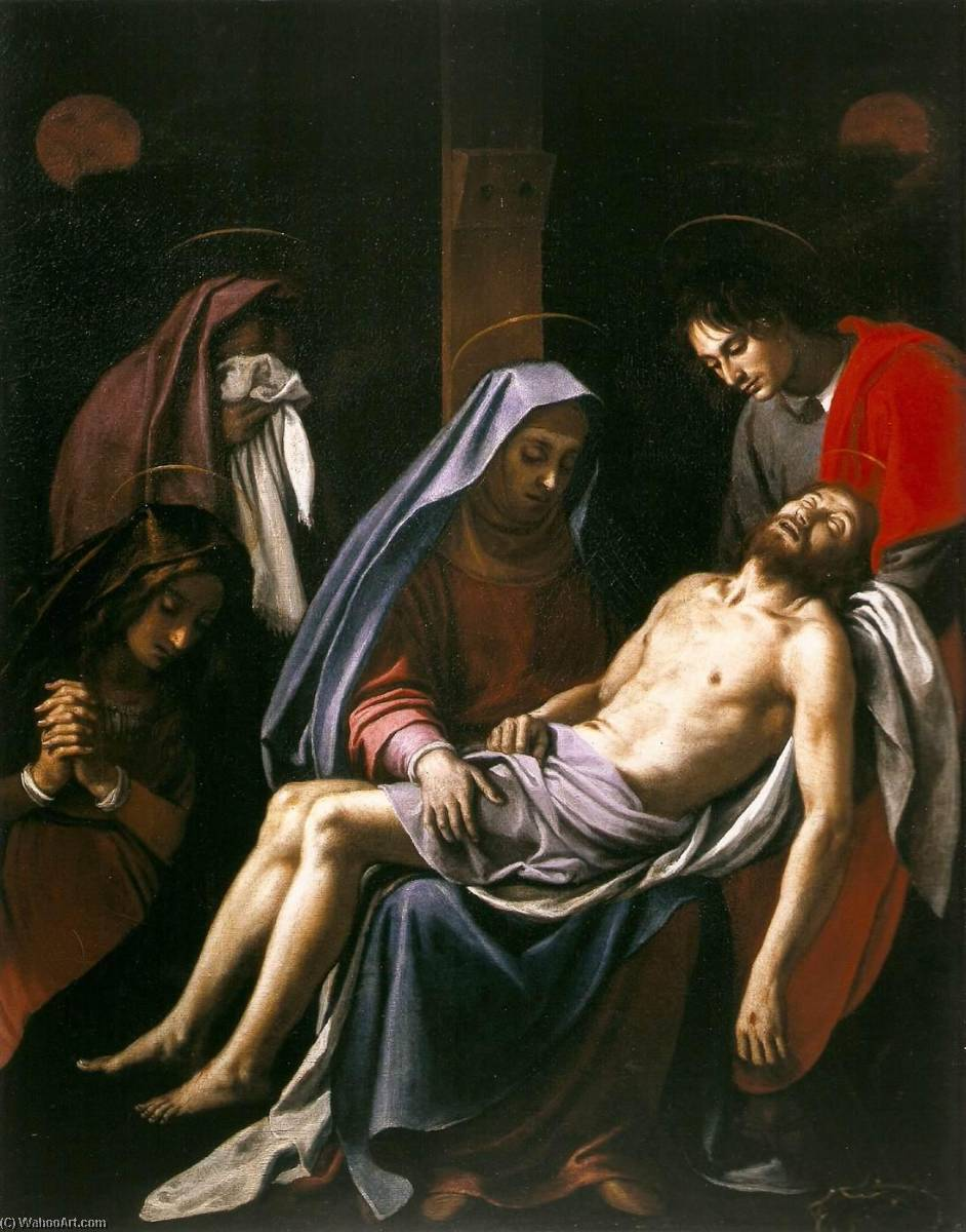 Deposition by Jacopo Chimenti (1551-1640) | Painting Copy | ArtsDot.com
