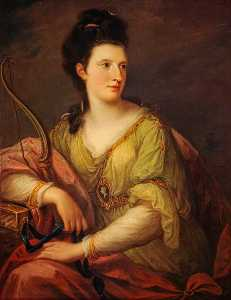 Angelica Kauffman (Maria Anna Angelika) - Jane Maxwell, Duchess of Gordon, Wife of the 4th Duke of Gordon