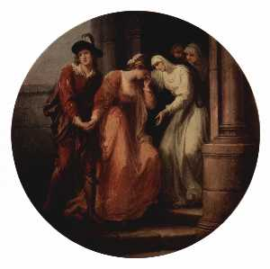 Angelica Kauffman (Maria .. - Farewell of Abelard and H..