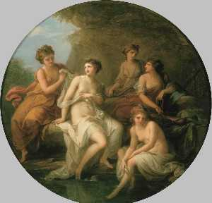 Angelica Kauffman (Maria .. - Diana and Her Nymphs Bath..
