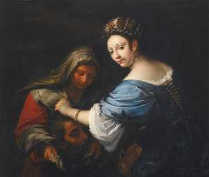 Francesco Del Cairo - Judith with the Head of H..
