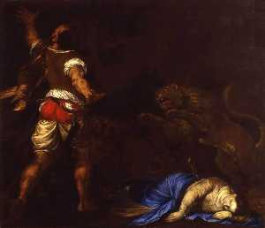 Francesco Del Cairo - The Martyrdom of St Euphe..