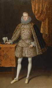 Rodrigo De Villandandro - Portrait of Philip IV of ..