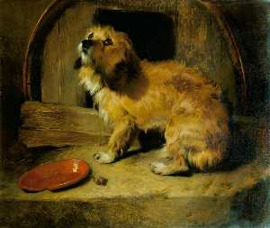 Edwin Henry Landseer - There's No Place Like Hom..