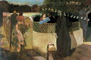Stanley Spencer - The Nativity