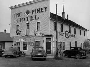Marion Post Wolcott - The Piney Hotel
