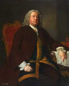 Allan Ramsay - Sir James Dalrymple, Bt, MP, Auditor of the Exchequer