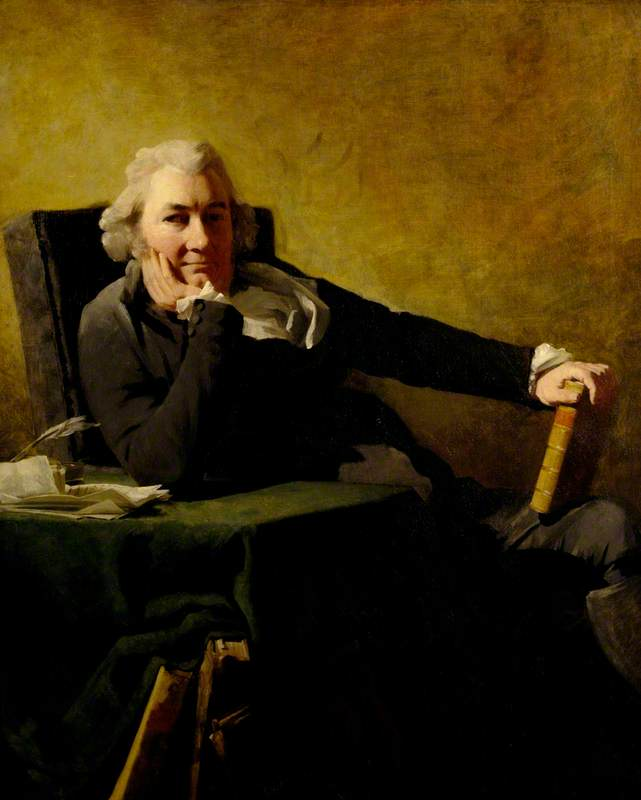 Robert Cunninghame Graham of Gartmore (d.1797), Poet and Politician, 1794 by Henry Raeburn (1756-1823, United Kingdom) | Museum Art Reproductions | ArtsDot.com