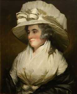 Henry Raeburn Dobson - Sarah, Wife of Sir John Forbes, Daughter of John, 13th Lord Sempill