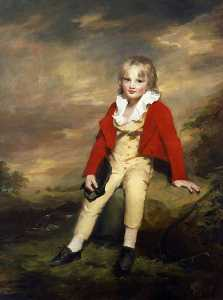 Henry Raeburn Dobson - Sir George Sinclair of Ulbster (1790–1868), as a Child