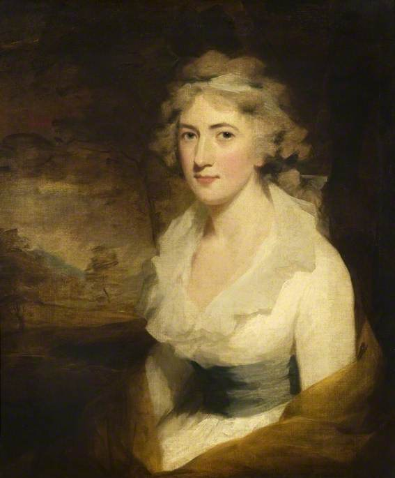 Order Painting Copy : Miss Macartney, 1794 by Henry Raeburn (1756-1823, United Kingdom) | ArtsDot.com