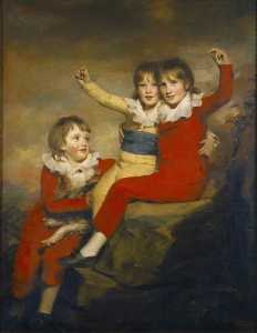 Henry Raeburn Dobson - The Macdonald Children