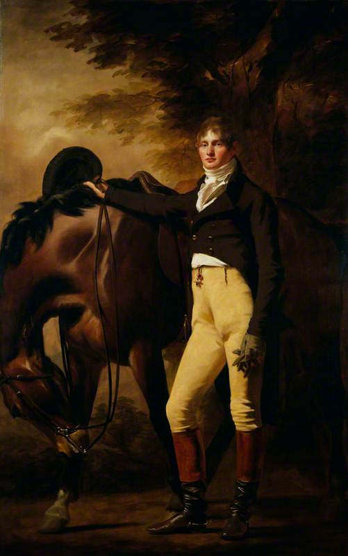 Professor John Wilson (1785–1854), Author and Moral Philosopher (Nom de Plume Christopher North), 1810 by Henry Raeburn (1756-1823, United Kingdom) | Museum Quality Reproductions | ArtsDot.com
